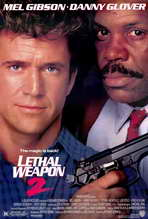 Lethal Weapon 2 - 27 x 40 Movie Poster