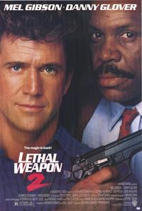 Lethal Weapon 2 - 43 x 62 Movie Poster - Bus Shelter Style A
