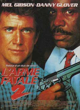 Lethal Weapon 2 - 11 x 17 Movie Poster - French Style A