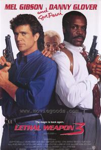 Lethal Weapon 3 - 43 x 62 Movie Poster - Bus Shelter Style A