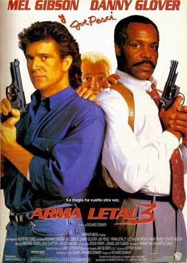 Lethal Weapon 3 - 27 x 40 Movie Poster - Spanish Style A