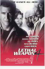 Lethal Weapon 4 - 27 x 40 Movie Poster - Style A