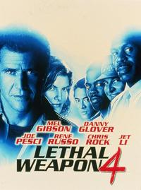 Lethal Weapon 4 - 8 x 10 Color Photo #1