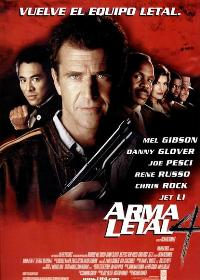 Lethal Weapon 4 - 11 x 17 Movie Poster - Spanish Style A