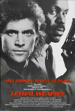 Lethal Weapon - 11 x 17 Movie Poster - Style B