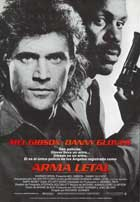 Lethal Weapon - 11 x 17 Movie Poster - Spanish Style A