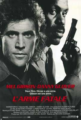 Lethal Weapon - 11 x 17 Movie Poster - French Style A