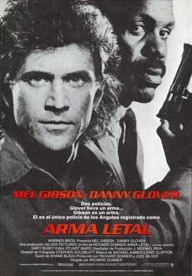 Lethal Weapon - 27 x 40 Movie Poster - Spanish Style A