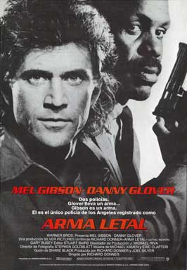 Lethal Weapon - 43 x 62 Movie Poster - Spanish Style A