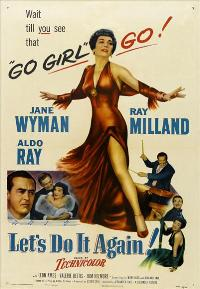 Let's Do It Again - 43 x 62 Movie Poster - Bus Shelter Style A
