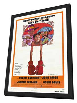 Let's Do It Again - 27 x 40 Movie Poster - Style A - in Deluxe Wood Frame