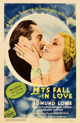 Let's Fall in Love - 11 x 17 Movie Poster - Style A