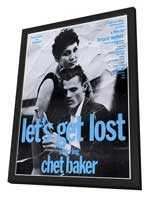 Let's Get Lost - 11 x 17 Movie Poster - Style D - in Deluxe Wood Frame