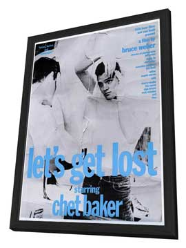 Let's Get Lost - 27 x 40 Movie Poster - Style C - in Deluxe Wood Frame