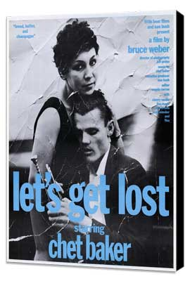 Let's Get Lost - 11 x 17 Movie Poster - Style D - Museum Wrapped Canvas