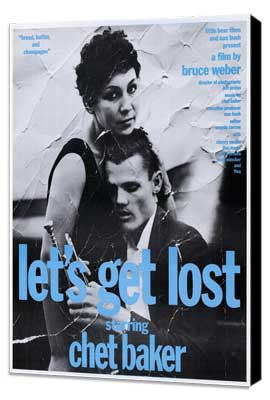 Let's Get Lost - 27 x 40 Movie Poster - Style D - Museum Wrapped Canvas