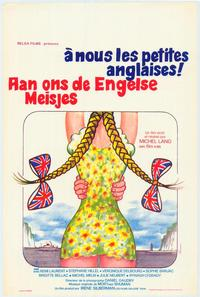 Let's Get Those English Girls - 11 x 17 Movie Poster - Belgian Style A