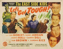 Let's Get Tough - 22 x 28 Movie Poster - Half Sheet Style A