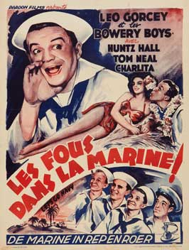 Let's Go Navy! - 11 x 17 Movie Poster - Belgian Style A