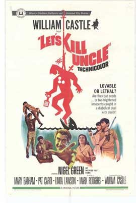 Lets Kill Uncle - 27 x 40 Movie Poster - Style A