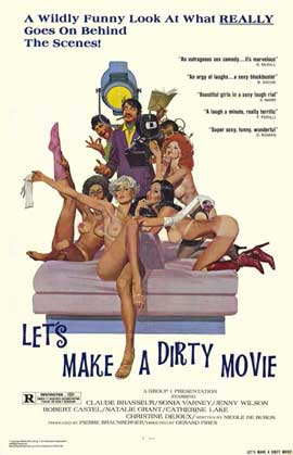 Let's Make a Dirty Movie - 11 x 17 Movie Poster - Style A