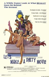 Let's Make a Dirty Movie - 27 x 40 Movie Poster - Style A