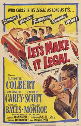 Let's Make It Legal - 11 x 17 Movie Poster - Style A