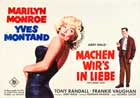 Let's Make Love - 11 x 17 Movie Poster - German Style A