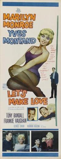 Let's Make Love - 14 x 36 Movie Poster - Insert Style A