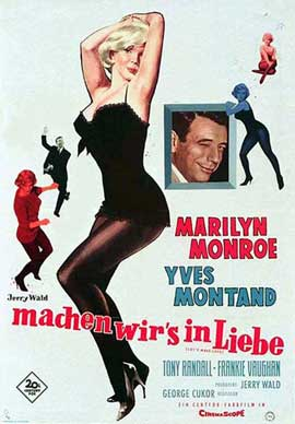 Let's Make Love - 11 x 17 Movie Poster - Belgian Style A