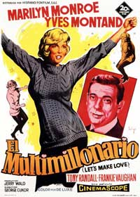 Let's Make Love - 11 x 17 Movie Poster - Spanish Style A