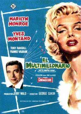 Let's Make Love - 11 x 17 Movie Poster - Spanish Style B
