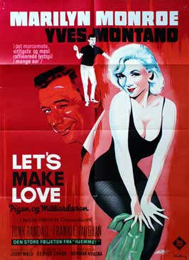 Let's Make Love - 11 x 17 Movie Poster - Danish Style A