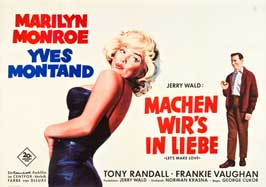 Let's Make Love - 27 x 40 Movie Poster - German Style A