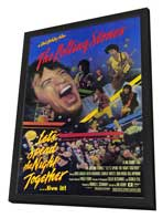Lets Spend the Night Together - 11 x 17 Movie Poster - Style A - in Deluxe Wood Frame