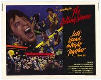 Lets Spend the Night Together - 22 x 28 Movie Poster - Half Sheet Style A