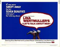 Lets Talk About Men - 11 x 14 Movie Poster - Style A