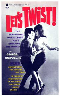 Let's Twist! - 11 x 17 Retro Book Cover Poster