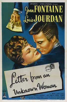 Letter from an Unknown Woman - 27 x 40 Movie Poster - Style B