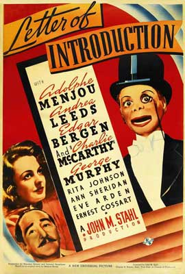 Letter of Introduction - 27 x 40 Movie Poster - Style A