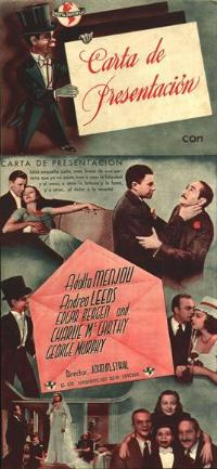 Letter of Introduction - 14 x 36 Movie Poster - Spanish Style A