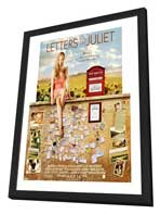 Letters to Juliet - 27 x 40 Movie Poster - Style B - in Deluxe Wood Frame