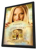Letters to Juliet - 11 x 17 Movie Poster - Style A - in Deluxe Wood Frame