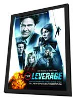 Leverage (TV) - 11 x 17 TV Poster - Style B - in Deluxe Wood Frame