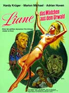 Liane, Jungle Goddess - 11 x 17 Movie Poster - German Style A