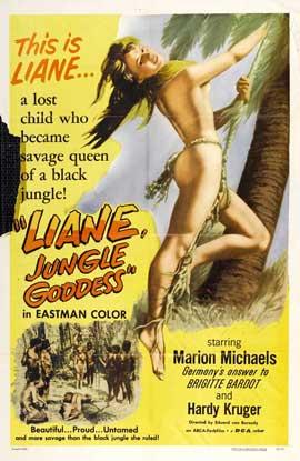 Liane, Jungle Goddess - 11 x 17 Movie Poster - Style A