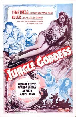 Liane, Jungle Goddess - 11 x 17 Movie Poster - Style B