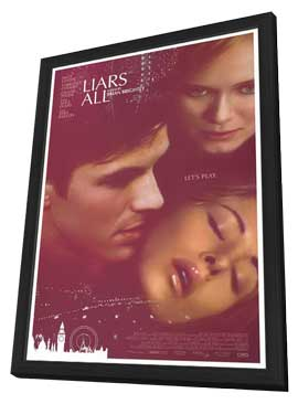 Liars All - 11 x 17 Movie Poster - Style A - in Deluxe Wood Frame