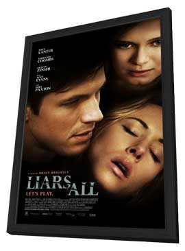 Liars All - 11 x 17 Movie Poster - Style B - in Deluxe Wood Frame