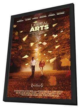 Liberal Arts - 11 x 17 Movie Poster - Style A - in Deluxe Wood Frame
